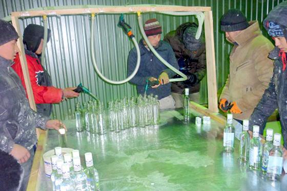 Подпольный водочный цех обнаружили вЕкатеринбурге