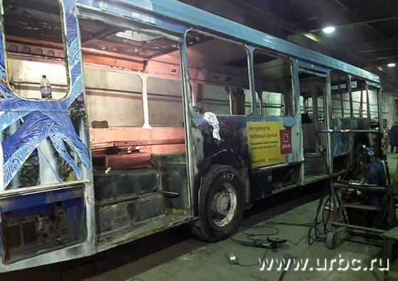 МОАП регулярно списывает автобусы на металлолом