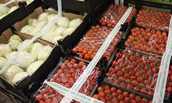 Наовощебазе №4 изъяли семь тонн запрещенных овощей ифруктов